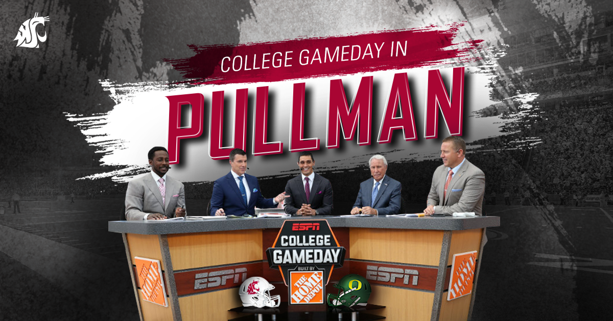 College GameDay in Pullman