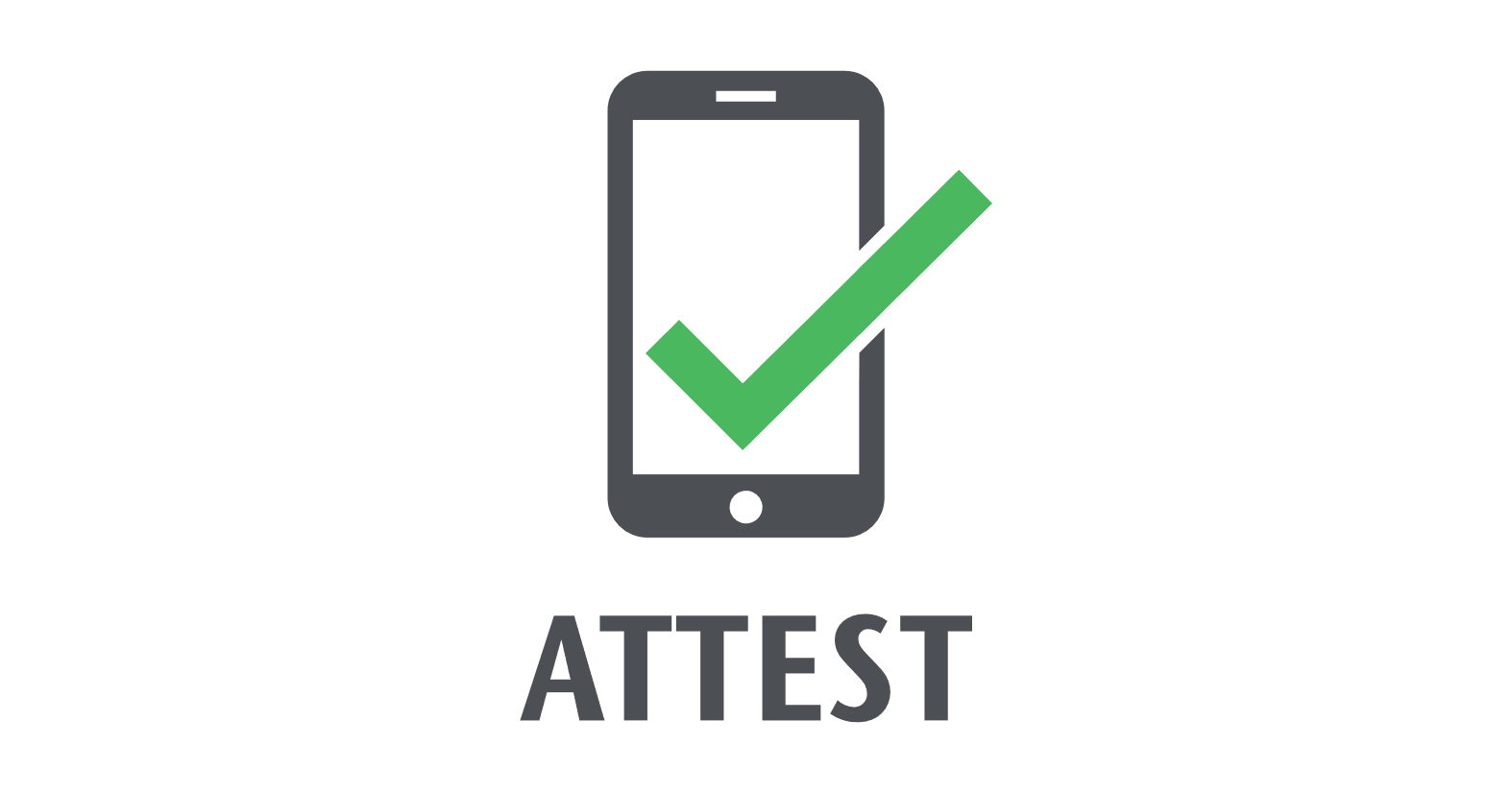 Icon for attesting online